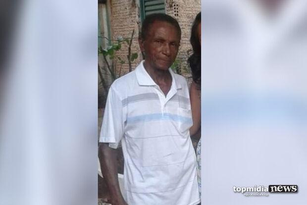 Família faz cruzada para encontrar suspeito de espancar idoso de 78 anos em MS