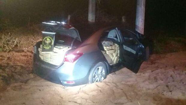 Carro recheado de maconha que seria levado para a Bahia é preso em MS