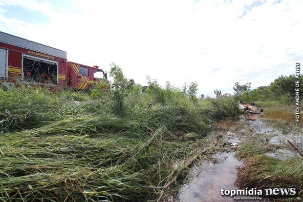 Empresária capota veículo e sai ilesa de acidente na BR-060