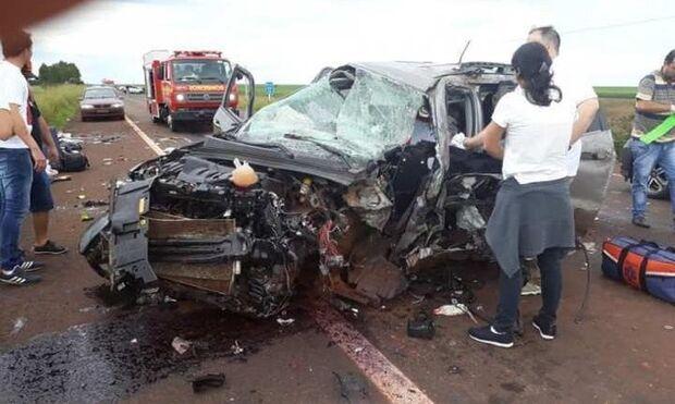 Motorista que morreu na BR-463 ao fugir da PRF é identificado
