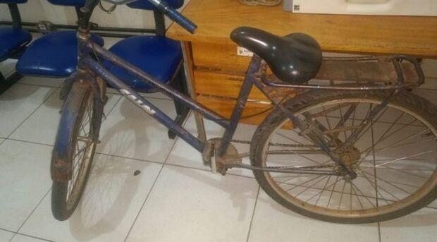 O LOKINHO MEU: bicicleta furtada há 11 anos é encontrada por policiais militares