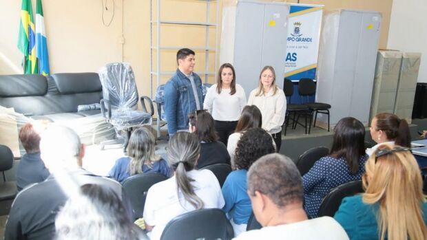 Cetremi e Creas recebem novos materiais em Campo Grande