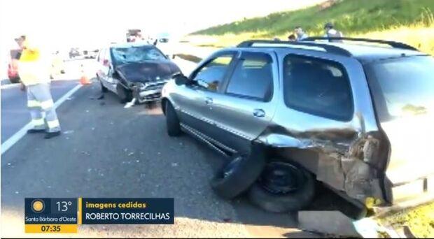 Motorista bêbado atropela quatro pessoas da mesma família