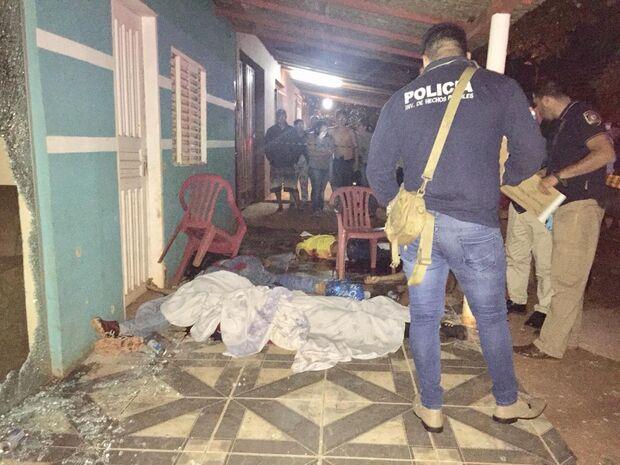 Chacina que matou 6 na fronteira é investigada pela polícia paraguaia
