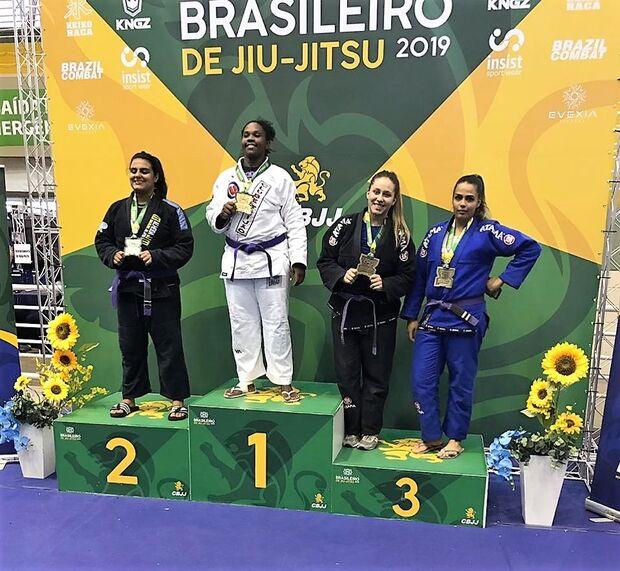 Jovem de Campo Grande conquista bronze em Campeonato Brasileiro de Jiu Jitsu