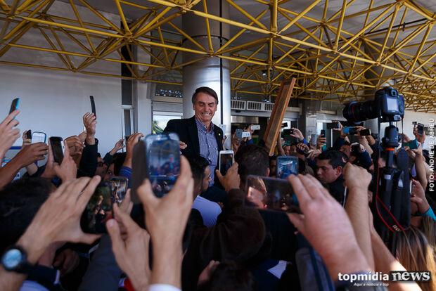 Pesquisa Itop: cai pela metade popularidade de Bolsonaro em Campo Grande