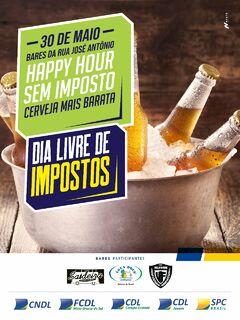 Campo Grande tem hoje cerveja pela metade do preço no 'Dia Livre de Impostos'