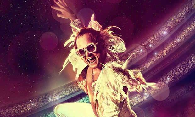 Estreia da semana: sir Elton John chega aos cinemas da Capital em 'Rocketman'