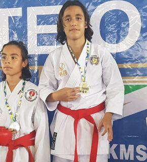 Carateca de MS celebra medalha de ouro e se prepara para o Brasileiro em Recife