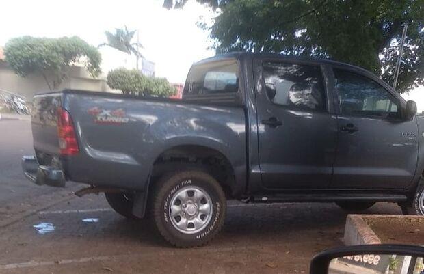 Polícia Civil recupera caminhonete de empresário e identifica suspeito 24 horas após o crime