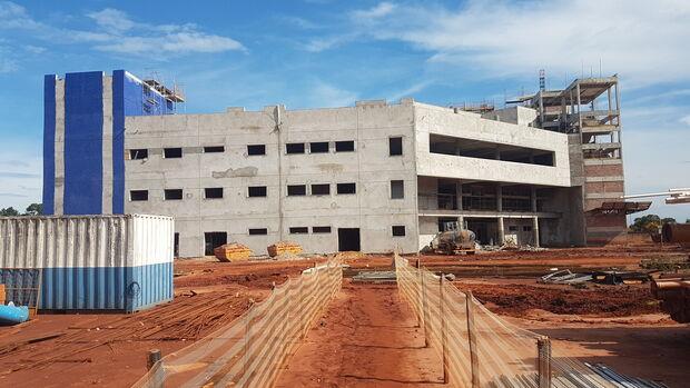 Secretário diz não é responsável por paralisação de obras do Hospital Regional de Três Lagoas