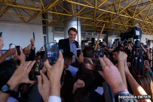 Pesquisa Itop: campo-grandense diz que Bolsonaro está no caminho certo