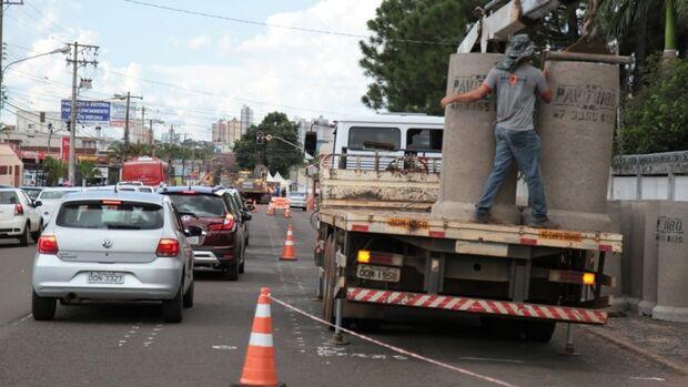População comemora fim das enchentes e revitalização da Avenida Bandeirantes