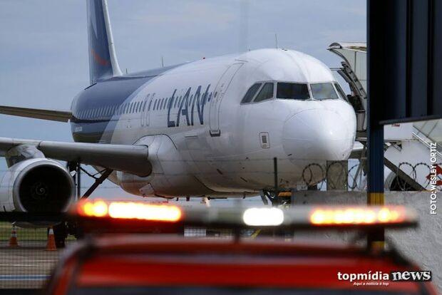 Aeroporto Internacional de Campo Grande está fechado para pouso e decolagem