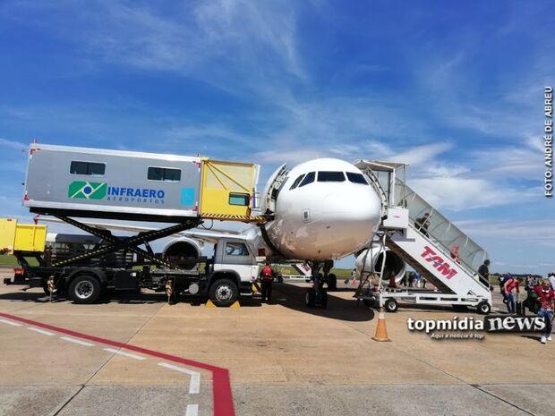 Aeroporto Internacional de Campo Grande opera normalmente neste sábado
