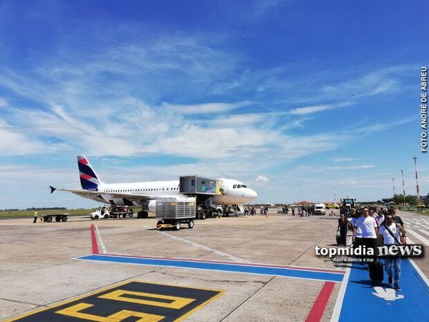 Aeroporto Internacional de Campo Grande opera por instrumentos nesta quarta-feira