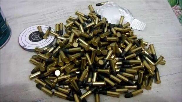 PM prende homem com 50 munições de 22 em MS