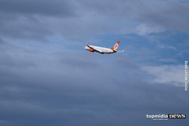Aeroporto de Campo Grande está aberto para pousos e decolagens com quatro voos programados