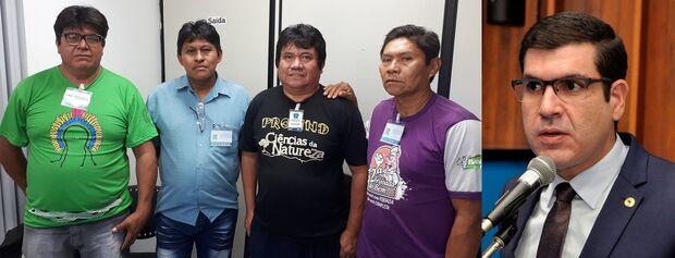 Deputado Jamilson Name pede ao governo reforma de escola indígena em Aquidauana