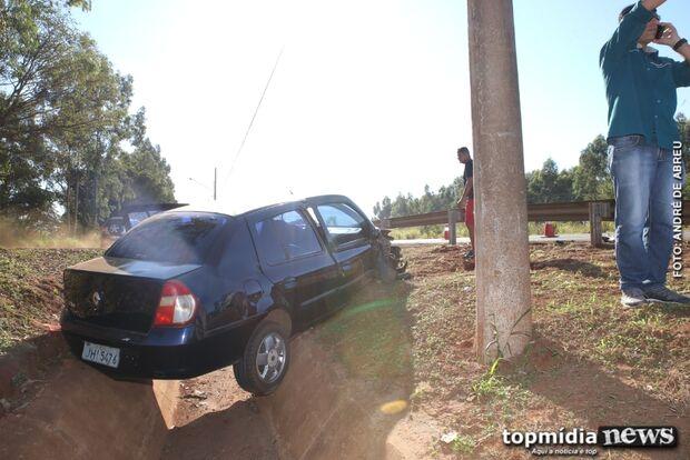 Batida entre carros deixa duas mulheres feridas em Campo Grande