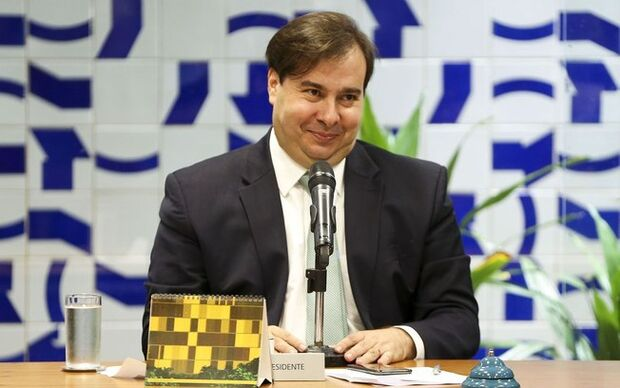 Rodrigo Maia rompe relação com líder do Governo na Câmara