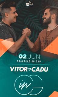 Vitor e Cadu gravam DVD em Campo Grande