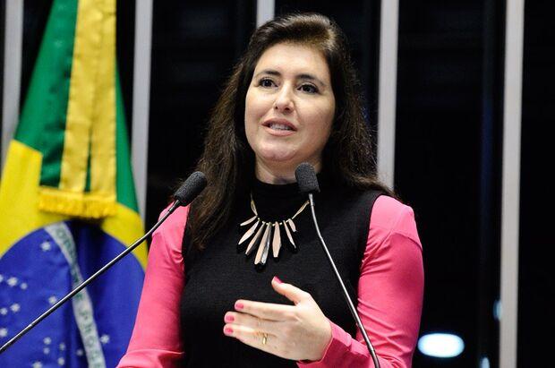 Simone adota silêncio quanto à possibilidade de virar ministra na gestão de Bolsonaro