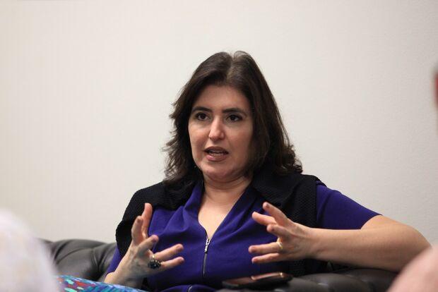 Simone diz que Senado vai tentar derrubar votação que tirou Coaf de Sérgio Moro