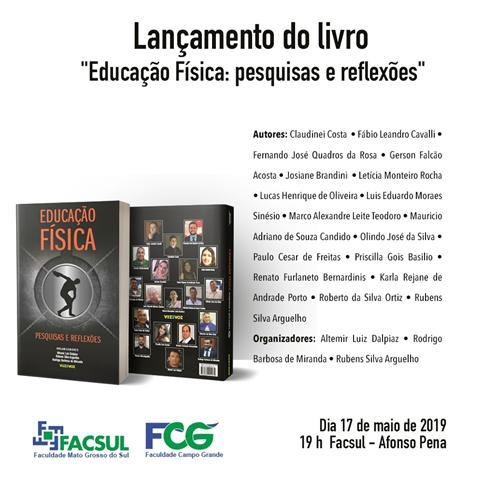 Universidade lança livro sobre pesquisas e reflexões da Educação Física
