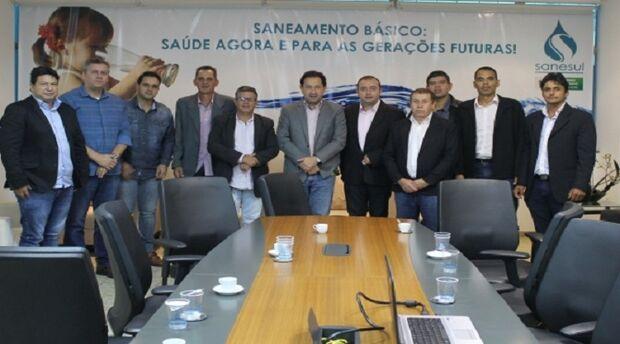 Vereadores analisam proposta da Sanesul assumir serviços de água e esgoto em Bandeirantes