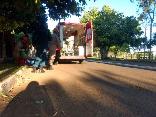 Motorista atropela menina de 15 anos próximo a escola em Campo Grande