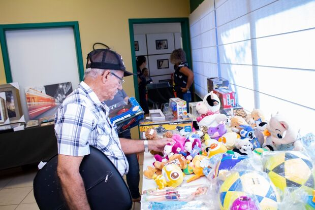 AACC/MS realiza bazar com produtos novos doados pela Receita Federal