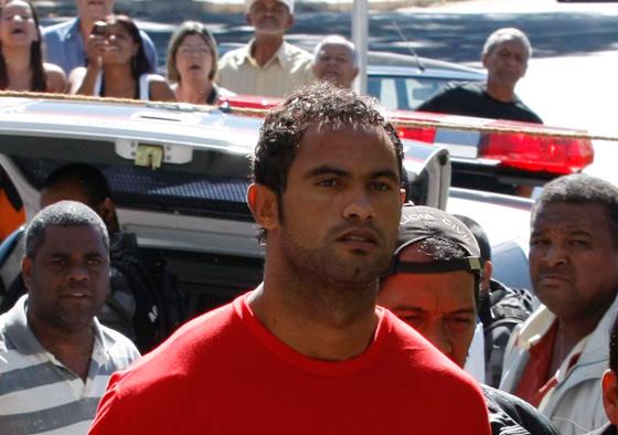 Condenado por homicídio, Goleiro Bruno, tem ação negatória de paternidade extinta