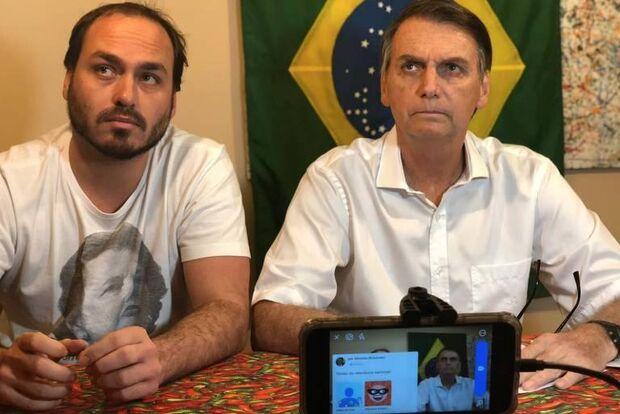 Carlos, o Zero Dois de Bolsonaro, derruba governo e é melhor Jair se acostumando