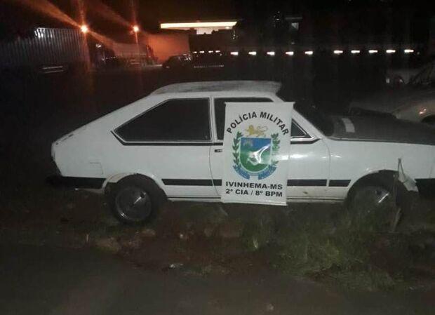 Polícia Militar recupera veículo roubado e liberta guarda que foi feito refém