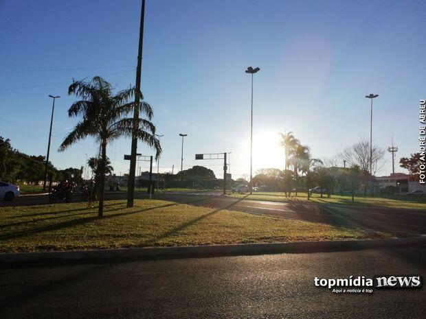 Sábado será de céu claro com temperatura máxima de 31º C em Campo Grande