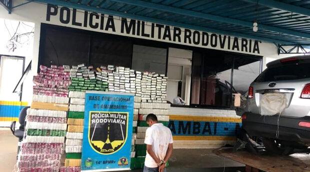 Apreensão de drogas em Mato Grosso do Sul cresce 30% em 2019