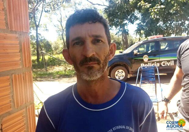 Suspeito de matar idoso é preso em propriedade rural de Coxim