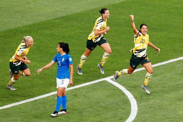 Brasil perde de virada para Austrália na Copa do Mundo feminina