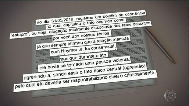 Ex-advogado de mulher que acusa Neymar diz que ela havia relatado agressão, e não estupro