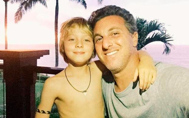 Filho de Huck e Angélica é operado e passa bem após acidente no mar