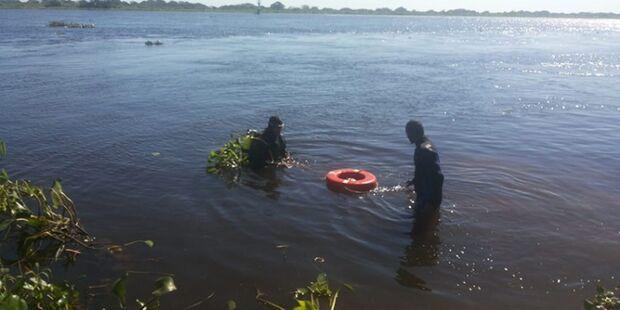 Bombeiros buscam por suposta vítima de afogamento no rio Paraguai