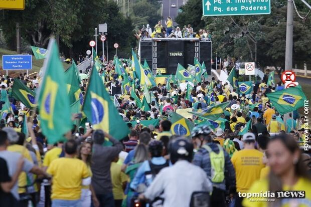 Enquete: maioria dos leitores avaliam que manifestação pró-Bolsonaro foi 'ótima'