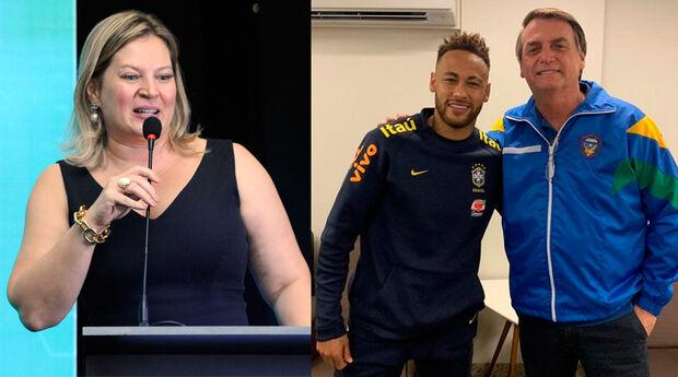 Joice Hasselmann sai em defesa de Neymar e chama mulher de canalha