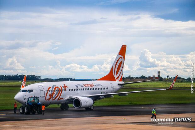 Aeroporto de Campo Grande opera sem restrições com quatro voos programados neste sábado