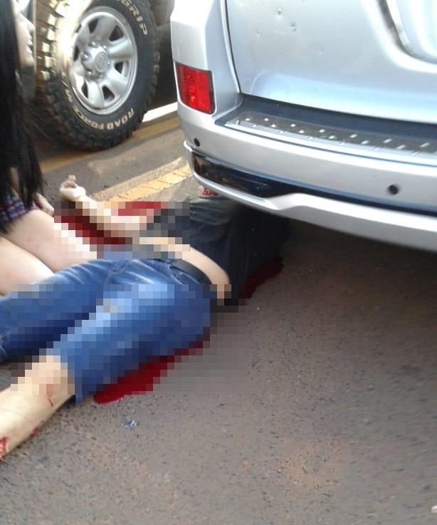 VÍDEO: ex-policial é executado em estacionamento de shopping