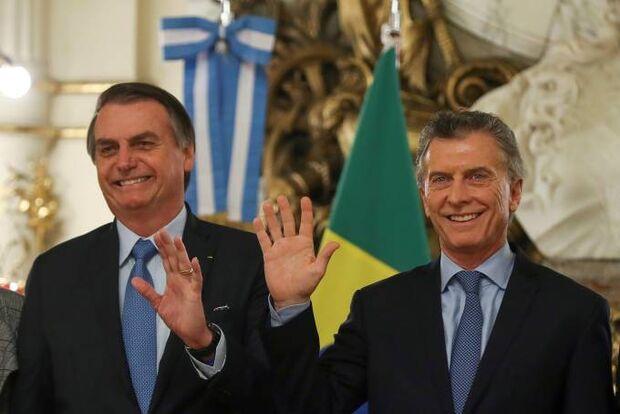 Proposta de Bolsonaro prevê criação do 'peso real', moeda comum para Brasil e Argentina