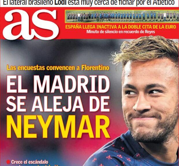 Jornal diz que Real Madrid desiste de Neymar após polêmica envolvendo brasileiro