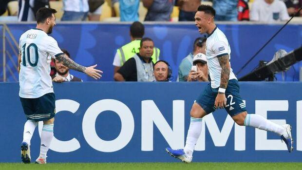Final antecipada? Argentina bate Venezuela e pega Brasil na semi da Copa América