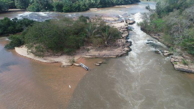 Com o uso de drone, PMA flagra quatro casos de pesca predatória nos rios de MS